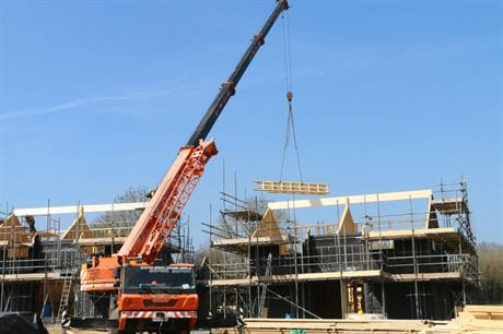 The Broadhempston community self build is one of the projects brought forward in the Teignbridge area