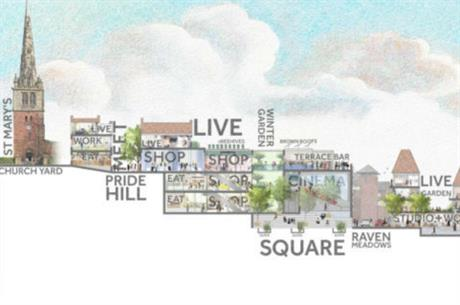 Shrewsbury's Big Town Plan is intended to help future-proof the historic town centre (PIC Shrewsbury Big Town Plan partnership)