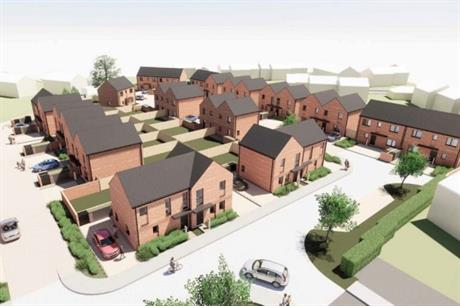 Cornovii Development's first scheme includes homes for market sale and affordable tenures (PIC Shropshire Council)
