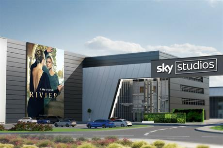 Artist's impression of the planned Sky Studios Elstree development (PIC Sky)