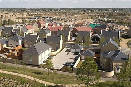 A local builder has given the first phase of the Alconbury Weald scheme a distinctive design (PIC Savills)