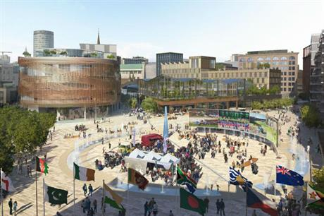 The Birmingham Smithfield development could have a new public square at its heart
