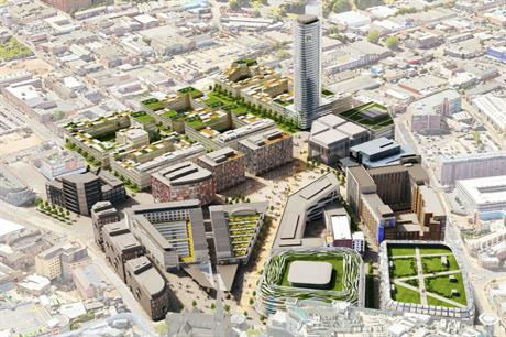 The Smithfield market site has potential for a mixed use scheme with around 2,000 homes
