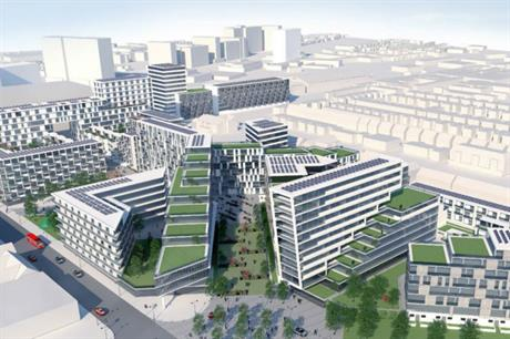 Southend council's vision of the development potential of Better Queensway