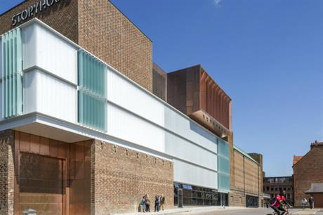 Storyhouse is Chester's largest public building to date, with 7,500 square metres of public space (PIC Peter Cook)