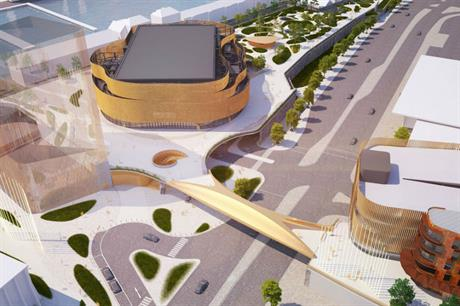 The planned indoor arena is expected to be a catalyst for broader regeneration