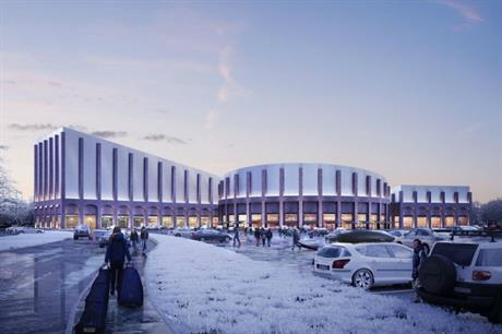 Architect FaulknerBrowns' design for Swindon's planned leisure destination