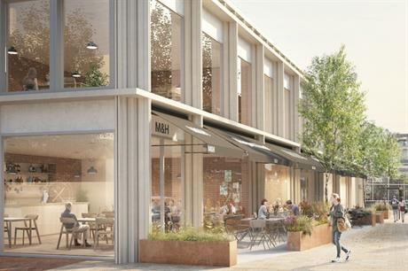 THAT Group's planned mixed use scheme will replace a long disused building (PIC THAT Group)