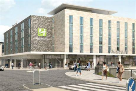 The planned hotel is intended to serve Blackpool's emerging business district
