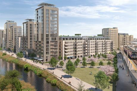 The vision for Thamesmead Waterfront includes new homes, town centre regeneration and public realm improvements