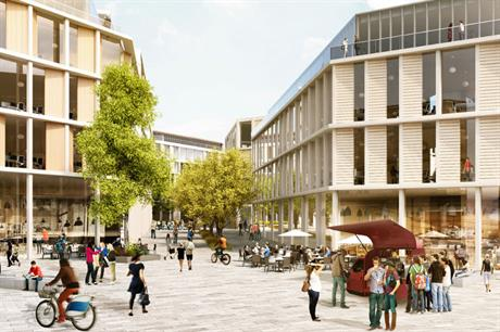 The campus masterplan for the former Western Infirmary site creates a mixed use quarter