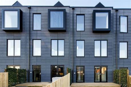 Urban Splash's first modular house model, the Town House, designed by shedkm (PIC Urban Splash)