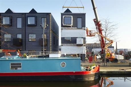 Urban Splash's House business delivers a range of modular houses (shown) and apartments (PIC Urban Splash)