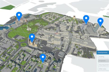 Barking and Dagenham is experiencing significant growth, charted on this model created by VUCITY (PIC VUCITY)