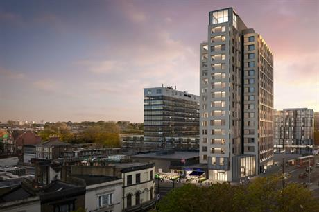 Vantage Point remains a landmark, but has now been reclad in lighter finishes (PIC Essential Living)
