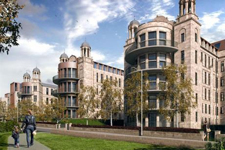 Redevelopment of Victoria Infirmary will see the Nightingale pavilions retained and transformed into homes (PIC Sanctuary Homes)