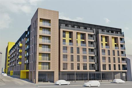 The John Street development in Warrington is targeted at private renters (PIC Triangle Architects)