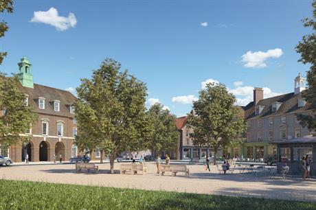 Buckland Development's vision for the planned Welborne Garden Village