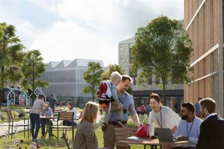 The Wellcome Genome Campus is set to grow with new science facilities, homes and amenities (PIC Wellcome)