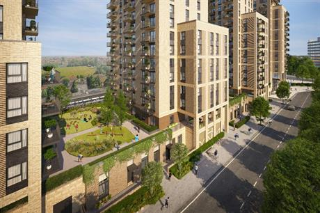 The Wembley Park scheme is designed for more sustainable living (PIC Visuals and rendering by AVR London, design by TateHindle (architect), MacFarlane Associates (landscape)