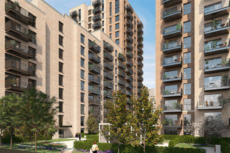 JTP's design has residential blocks around a series of south facing courtyards