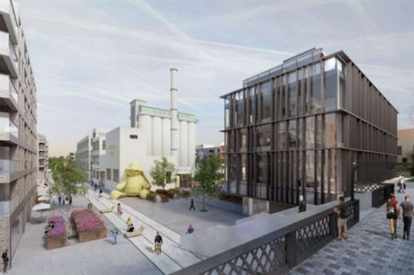 Welwyn's Wheat Quarter combines existing historic factory buildings and new designs (design by ColladoCollins)