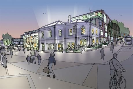The area close to Winchester station is set for revival with offices, retail and leisure