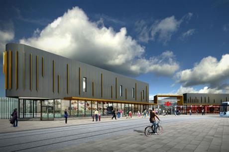 Wolverhampton's new station will include a new stop for the Midland Metro tram link