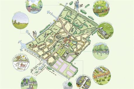South east Bicester's Wretchwick Green is planned as a green neighbourhood