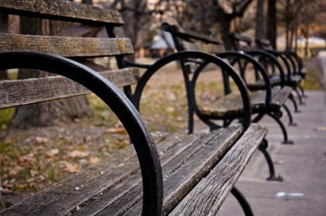 Report: Benches offer important social benefits [Picture credit: Kendra Miller via Flickr]
