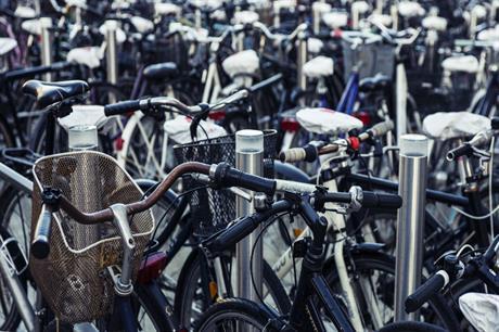 Bike parking in Copenhagen [Pic credit: Lars Kristensen via Flickr]