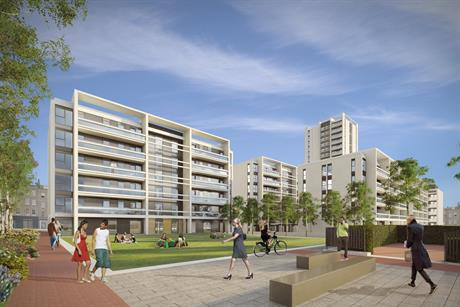 The planned Maiden Lane regeneration project