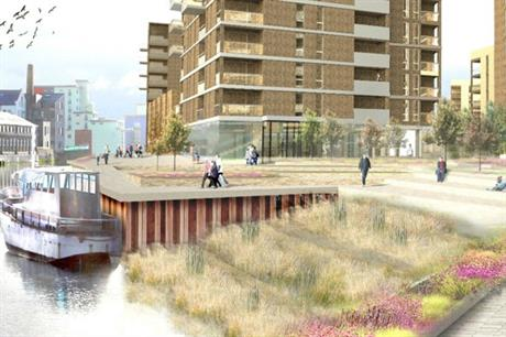 The Fresh Wharf proposal will see a former industrial site redeveloped with homes