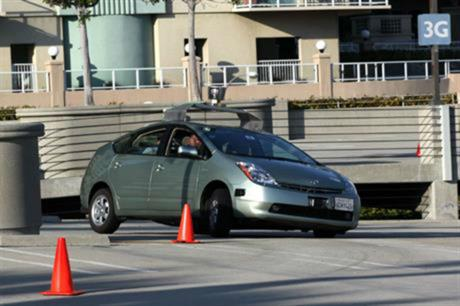 A driverless car tested by Google [Picture credit: Steve Jurvetson via Flickr]