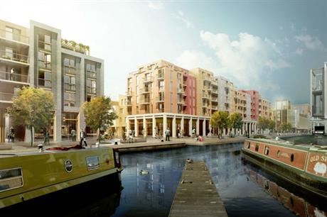 The proposed Fountainbridge project in Edinburgh