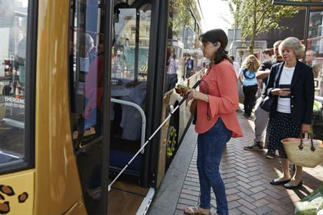 A new report looked at how people with sight loss can be encouraged to explore cities (Future Cities Catapult)