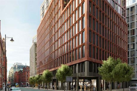 Developer Urban&Civic's Princess Street scheme in Manchester is among the projects backed by Greater Manchester's housing loan fund