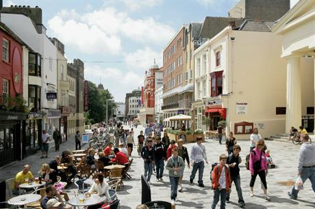 New Road in Brighton (Image credit: Gehl Architects)