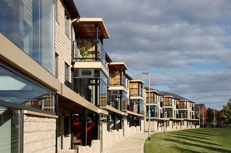 The scheme used modern methods of construction [Pic credit: HTA]