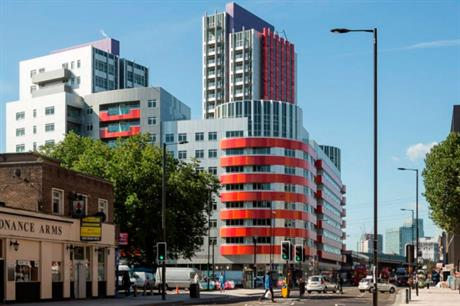 The development at Rathbone market [Picture credit: CZWG]