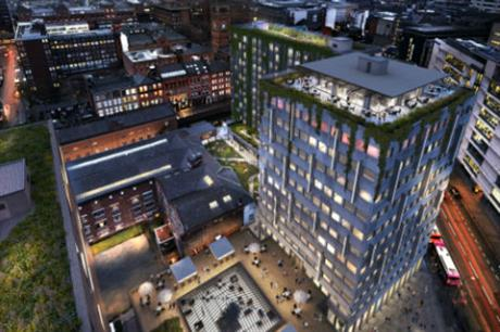 New connections would be opened up in Manchester as part of the scheme [Pic Credit: Capital & Centric and Henry Boot Developments]