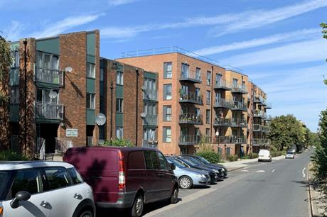 Additional tree planting would have provided a softer frontage and continued the tree lined setting (PIC Simon Carne)