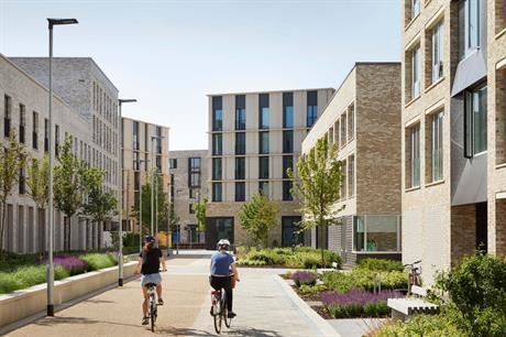 Cycle paths need to be attractive, like the Ridgeway running through Eddington (PIC Jack Hobhouse Photographer