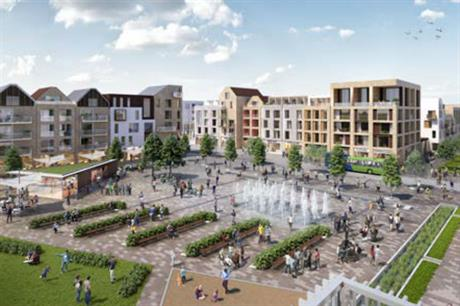 The code for Northstowe's town centre square is quite detailed to provide a focus for the new settlement (PIC Tibbalds)