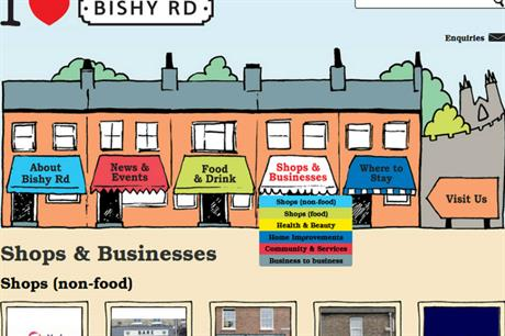 Traders on York's Bishopsthorpe Road set up a website as part of the area regeneration (PIC Bishy Road Traders Association)