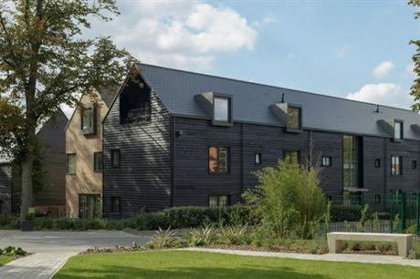 Common open space is important on intergenerational housing schemes, like the Avenue, Saffron Walden (PIC Pollard Thomas Edwards)