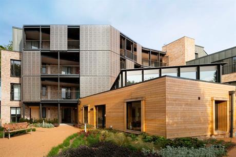 Apartments at architect Pollard Thomas Edwards' Colby Lodge are dual aspect (PIC Tim Crocker)
