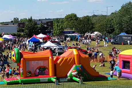 Events are important to attract people to the park, but their focus should be those living nearby (PIC Friends of Hardie Park)