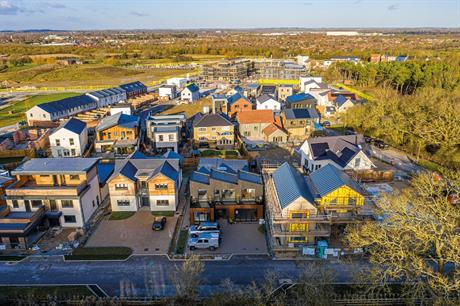 The varied self-build designs of Graven Hill in Bicester (PIC Graven Hill Development Company)