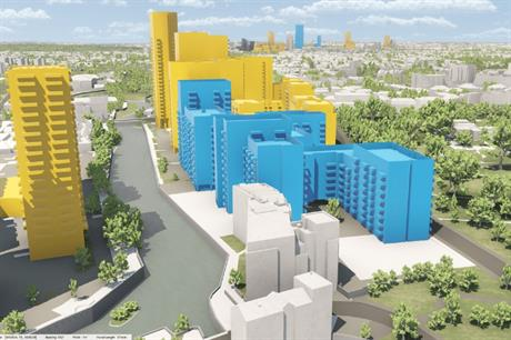 A model can help in masterplanning and visualising potential schemes (PIC VU.CITY)